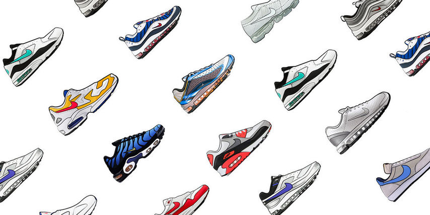 Nike Air Max Timeline - Models and