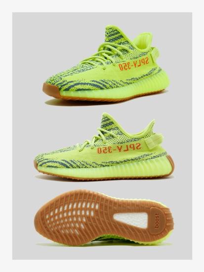 Yeezy Boost 350 Semi-Frozen Yellow
