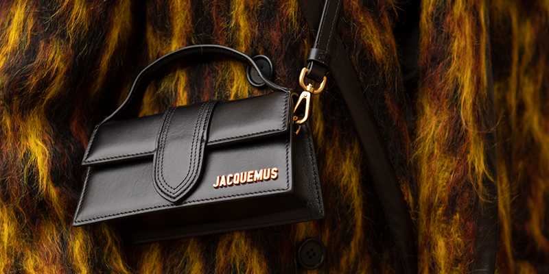 bolso mini negro de Jacquemus